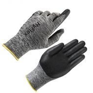 Nitrile Gloves, Black, Ansell HyFlex®