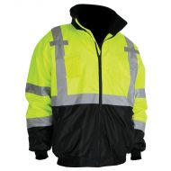 Bomber Jacket, Lime/Black, Class 3