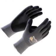 MaxiFlex Glove, Black Nitrile Palm, 12 pairs/BX