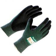MaxiFlex Cut Glove, Black Nitrile Palm